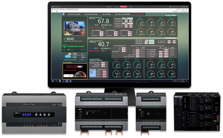 Hệ thống quản lý toà nhà thế hệ savic-net™G5