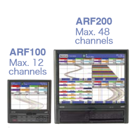 Model ARF100/200 Paperless Recorders