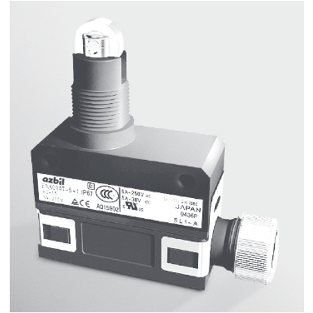 Compact Horizontal Limit Switches (Rugged)