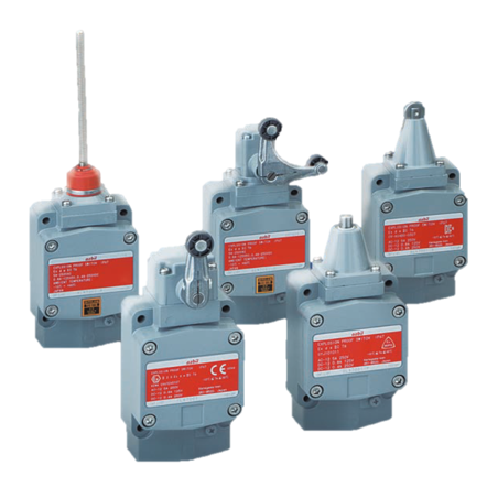 Explosion-Proof Switches Compliant with IEC Standards