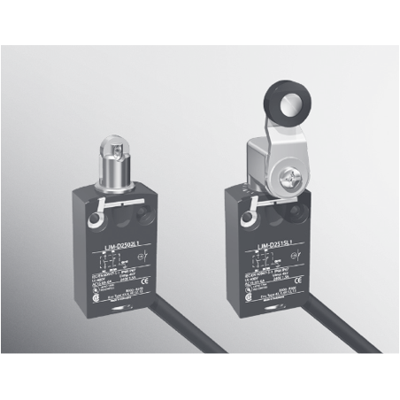 Compact Die-Cast Limit Switches with Positive Opening Mechanism