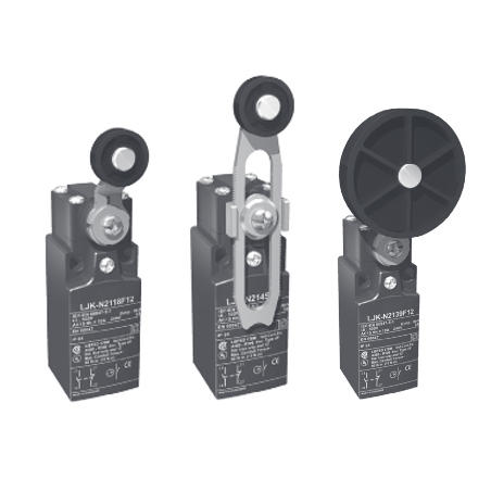 Compact plastic limit switches with positive opening mechanism