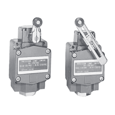 Waterproof Vertical Type Limit Switches